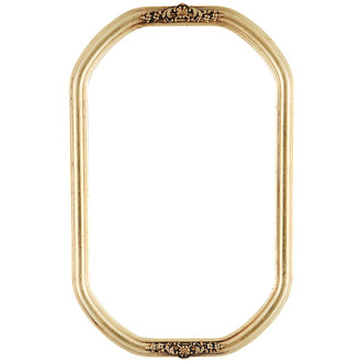 Contessa Octagon Frame #554 - Gold Leaf