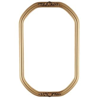 Contessa Octagon Frame #554 - Gold Spray