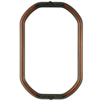 Contessa Octagon Frame #554 - Walnut
