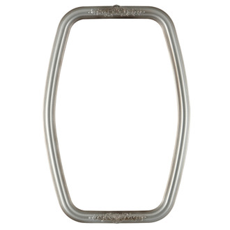 Contessa Hexagon Frame #554 - Silver Shade