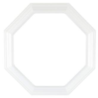Linen White Collector Plate Frame