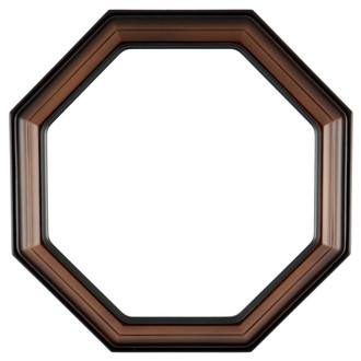 Collector Plate Frame #351 -Walnut