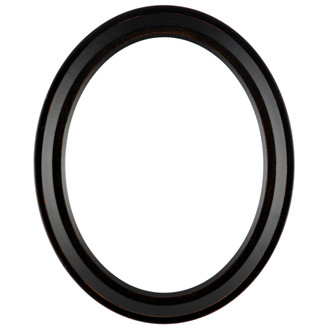 Newport #422 Oval Frame - Rubbed Bronze