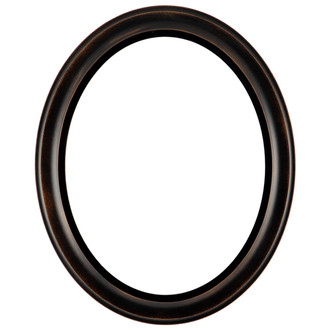 Messina Oval Frame #871 - Rubbed Bronze