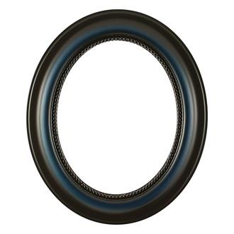 Heritage Oval Frame # 458 - Royal Blue