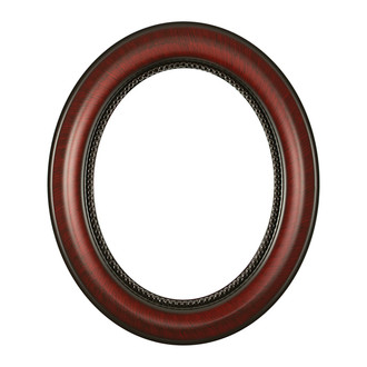 Heritage Oval Frame # 458 - Vintage Cherry
