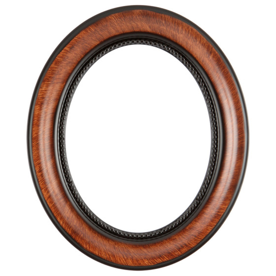 Heritage Oval Frame # 458 - Vintage Walnut