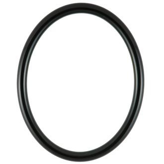 Pasadena Oval Frame # 250 - Gloss Black