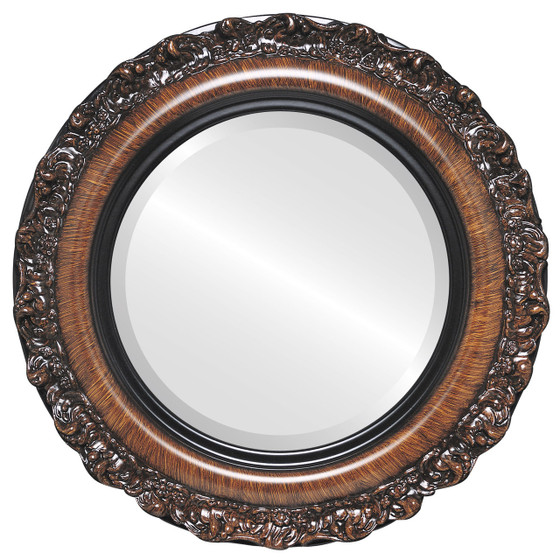 Brown Round Mirrors From 146 Venice Vintage Walnut Free