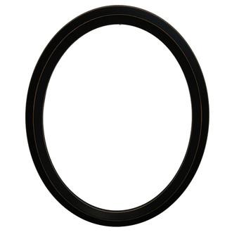 Huntington Oval Frame # 421 - Rubbed Black