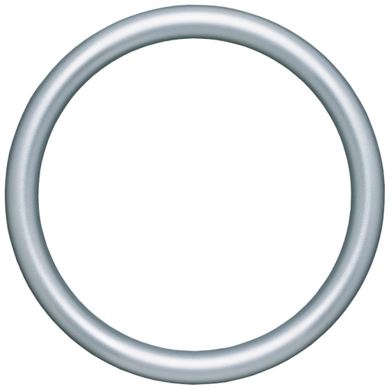 Round Frame in Silver Spray Finish| Silver Paint Round Picture ...