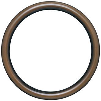 Pasadena Round Frame # 250 - Walnut