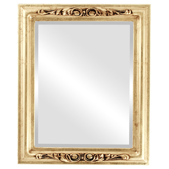 Gold Rectangle Mirrors From 164 Florence Gold Leaf Free