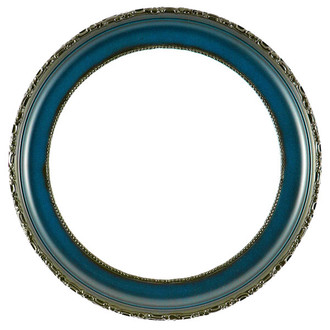 Kensington Round Frame # 401 - Royal Blue