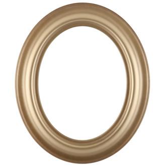 Lancaster Oval Frame # 450 - Desert Gold