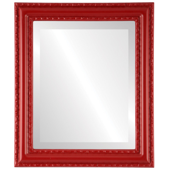 Red Rectangle Mirrors From 136 Dorset Holiday Red Free
