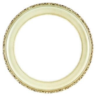 Kensington Round Frame # 401 - Taupe