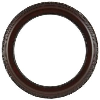 Kensington Round Frame # 401 - Vintage Cherry