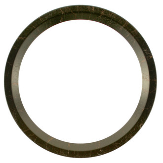 Huntington Round Frame # 421 - Veined Onyx