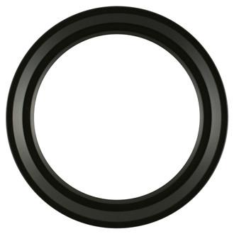 Newport Round Frame # 422 - Matte Black