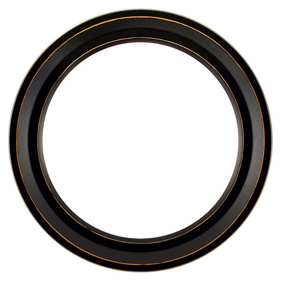 Newport Round Frame # 422 - Rubbed Black
