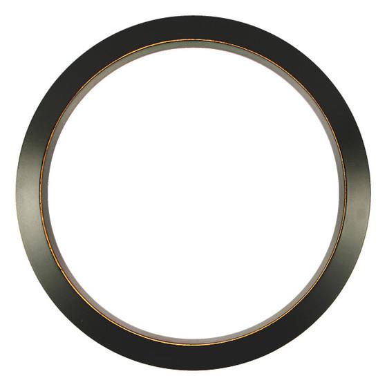 Regatta Round Frame # 423 - Rubbed Black