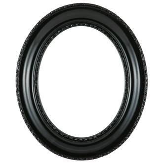 Somerset Oval Frame # 452 - Gloss Black