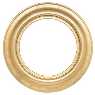 Lancaster Round Frame # 450 - Gold Leaf