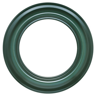 Lancaster Round Frame # 450 - Hunter Green