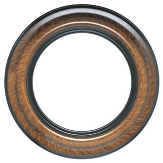 Lancaster Round Frame # 450 - Vintage Walnut
