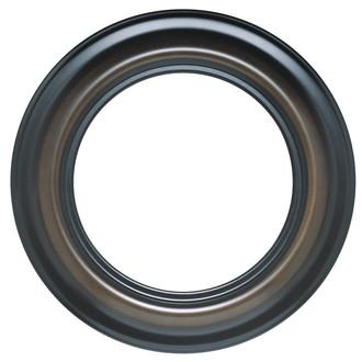 Lancaster Round Frame # 450 - Walnut