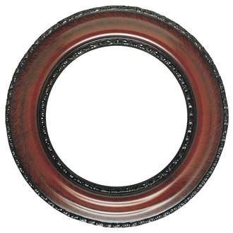 Somerset Round Frame # 452 - Vintage Cherry