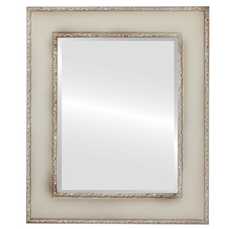 Paris Beveled Rectangle Mirror Frame in Taupe