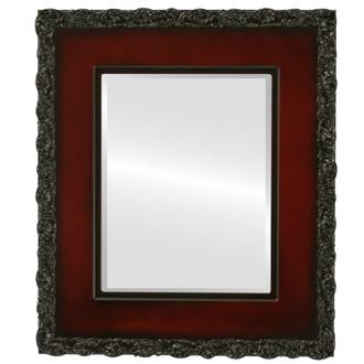 Williamsburg Beveled Rectangle Mirror Frame in Rosewood