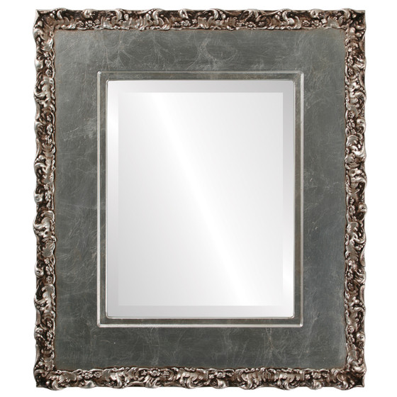 Silver Rectangle Mirrors From 153 Williamsburg Silver