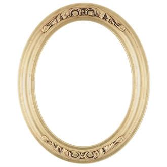 Florence Oval Frame # 461 - Gold Leaf