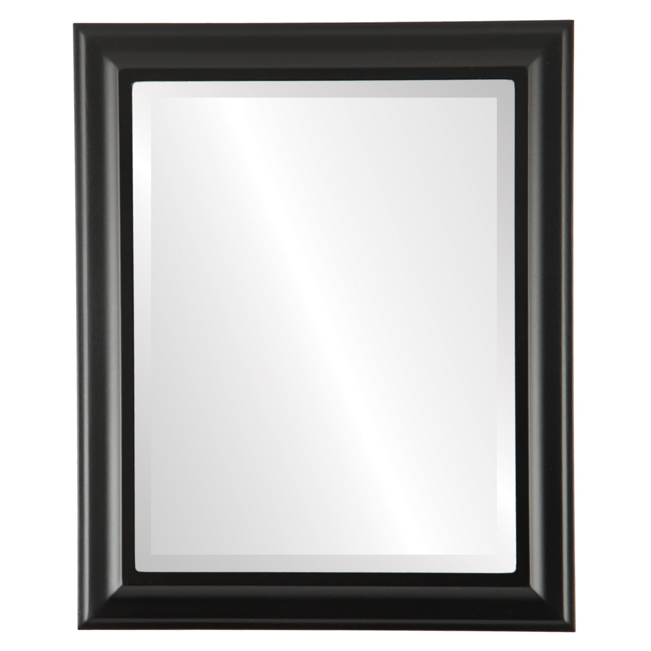 ad601043133 Black Rectangle Mirrors from  97