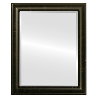 Messina Beveled Rectangle Mirror Frame in Veined Onyx