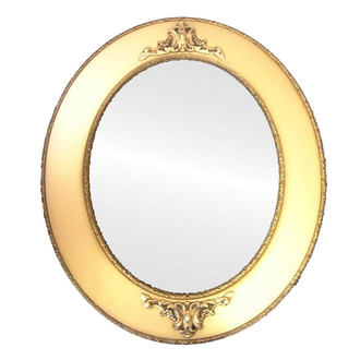 C0043 Framed Mirror in Desert Gold