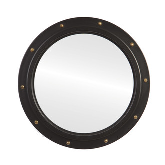 C0055 Framed Mirror in Matte Black