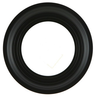 Imperial Round Frame #490 - Matte Black