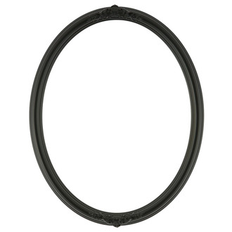 Contessa Oval Frame # 554 - Matte Black