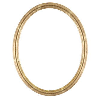 Saratoga Oval Frame # 550 - Champagne Gold
