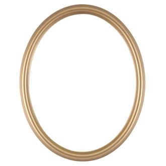 Saratoga Oval Frame # 550 - Desert Gold