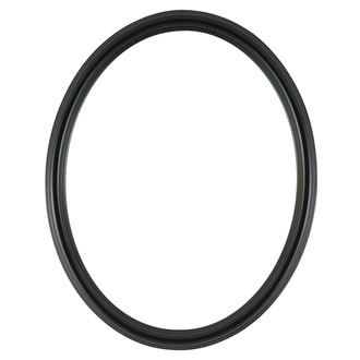 Saratoga Oval Frame # 550 - Gloss Black
