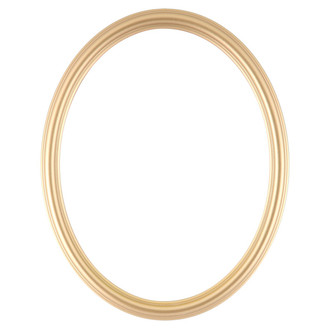 Saratoga Oval Frame # 550 - Gold Spray