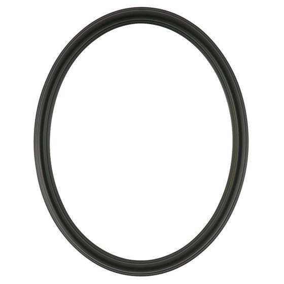 Saratoga Oval Frame # 550 - Matte Black