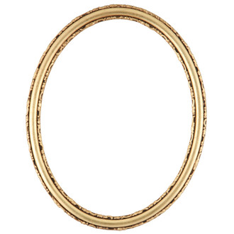 Virginia Oval Frame # 553 - Gold Leaf