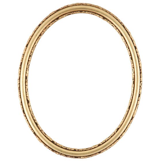 Virginia Oval Frame # 553 - Gold Leaf