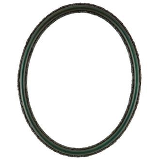 Virginia Oval Frame # 553 - Hunter Green